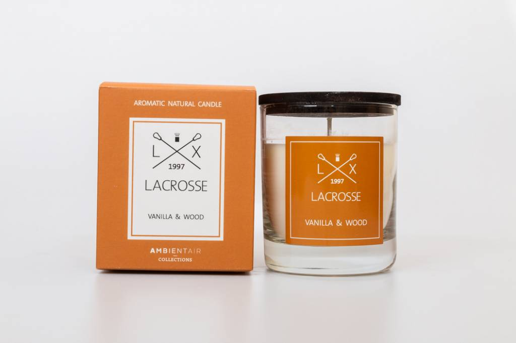 Lacrosse verre à parfum VANILLA & WOOD Lacrosse