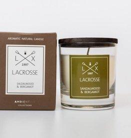 Lacrosse verre parfumé SANDALWOOD & BERGAMOT Lacrosse