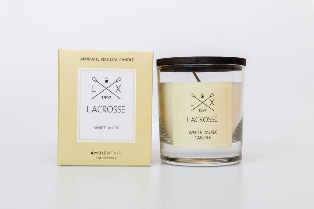 Lacrosse verre à parfum WHITE MUSK Lacrosse