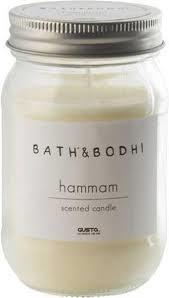 Gusta Scented candle in pot Hammam ⌀ 7.5x12cm