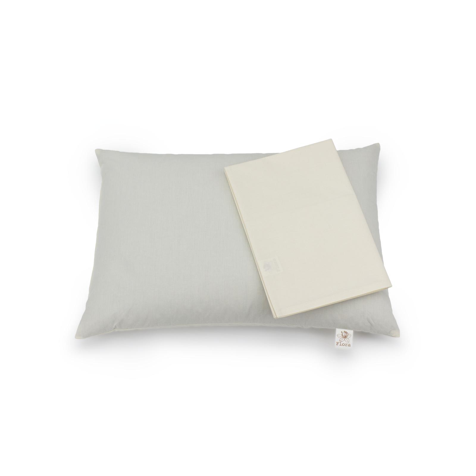 Flora Flora Classic buckwheat pillow + pillowcase