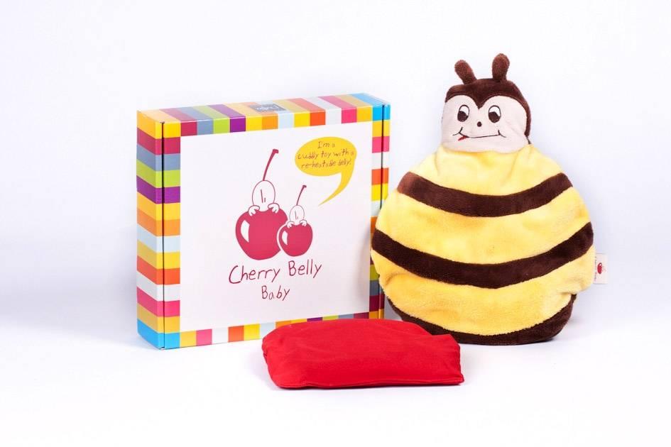 Cherry Belly knuffels Cerise Ventre Bébé Abeille