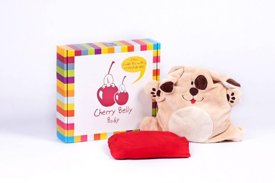 Cherry Belly knuffels Cerise ventre bébé chien