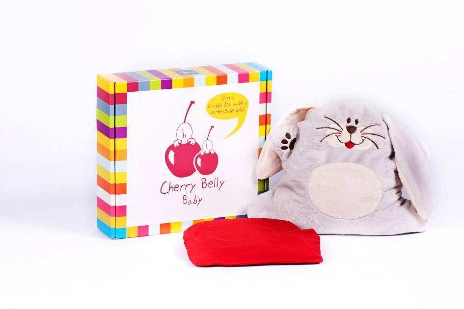 Cherry Belly knuffels Cerise Ventre Bébé Lapin
