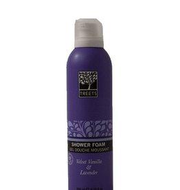 Treets Velvety vanilla & lavender shower foam