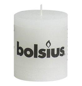 Bolsius kaarsen Pilier bougie rustique 80/68 blanc