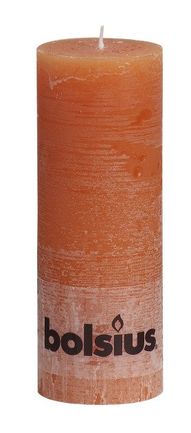 Bolsius kaarsen Pilier bougie rustique 190/68 orange