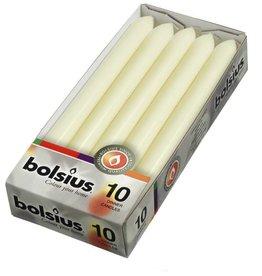 Bolsius kaarsen Dinner candle 230/20 ivory