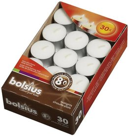 Bolsius kaarsen Theelicht 8 uur wit