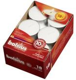 Bolsius kaarsen Maxilicht 10 uur wit