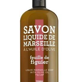 Compagnie de Provence Navulling Savon vloeibare handzeep vijgenolie