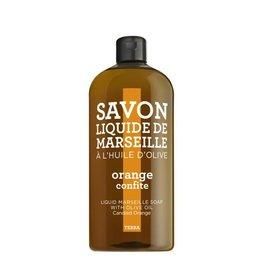 Compagnie de Provence Navulling Savon vloeibare handzeep zoete sinaasappel