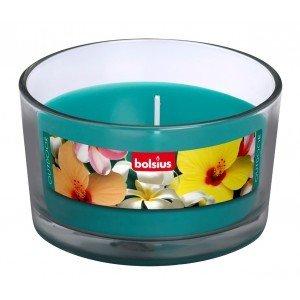 Bolsius kaarsen Outdoor Gevuld glas 82/106 zee