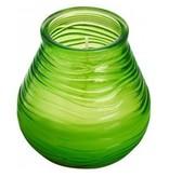 Bolsius kaarsen Partylight patio 94/91 lime green