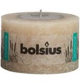 Bolsius kaarsen Rustieke buiten kaars 90/140 pastelbeige