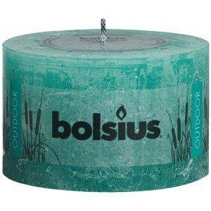 Bolsius kaarsen Rustieke buiten kaars 90/140 zee