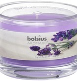 Bolsius kaarsen French lavender fragrance glass with lid 63/90