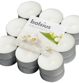Bolsius kaarsen Lily of valley fragrance tea light 4 hours