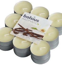 Bolsius kaarsen Vanille geur theelicht 4 uur