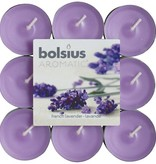Bolsius kaarsen French lavender fragrance tea light 4 hours