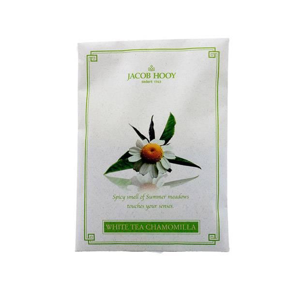 Jacob Hooy Scented bag white tea chamomilla