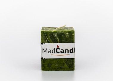 MadCandle Geurkaars kubus klein appel