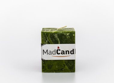MadCandle Scented candle cube small apple