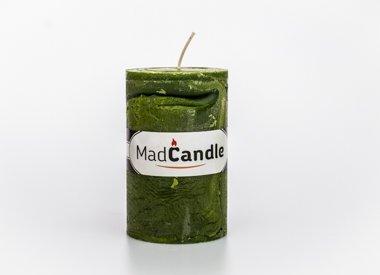 MadCandle Bougie parfumée pomme ovale moyenne