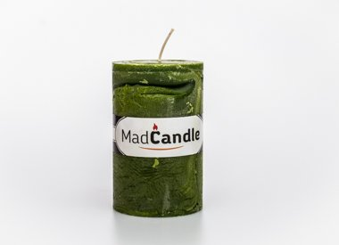 MadCandle Scented candle oval medium apple