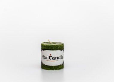 MadCandle Cylindre de bougie parfumée petite pomme