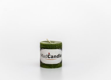 MadCandle Scented candle cylinder small apple