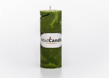 MadCandle Bougie parfumée cylindre grosse pomme