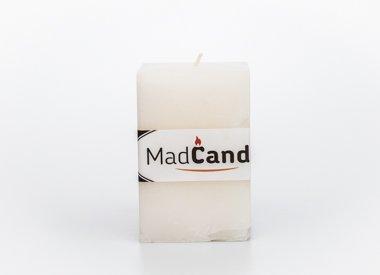 MadCandle Geurkaars kubus medium jasmijn