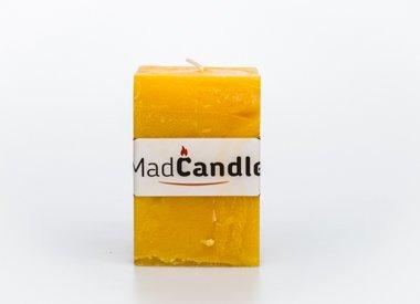 MadCandle Geurkaars kubus medium lemon