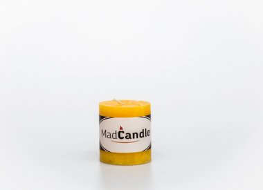 MadCandle Scented candle cylinder small lemon