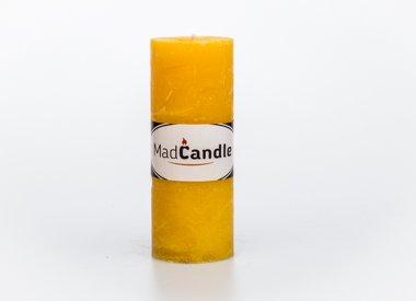 MadCandle Scented candle cylinder big lemon