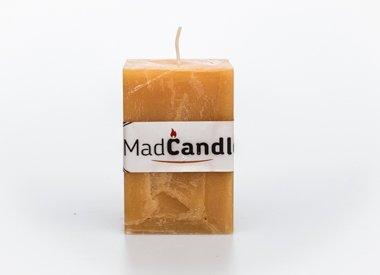 MadCandle Bougie parfumée cube moyen vanille