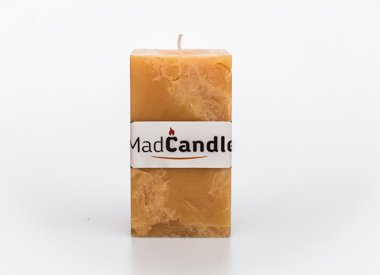 MadCandle Scented candle cube large vanilla