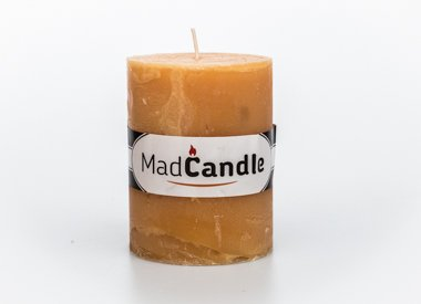 MadCandle Scented candle oval small vanilla