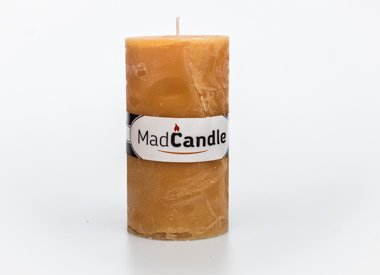 MadCandle Scented candle oval large vanilla