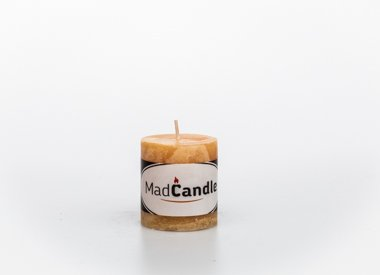 MadCandle Scented candle cylinder small vanilla