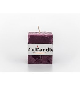 MadCandle Geurkaars kubus klein lavendel