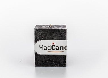 MadCandle Bougie parfumée cube petit musc