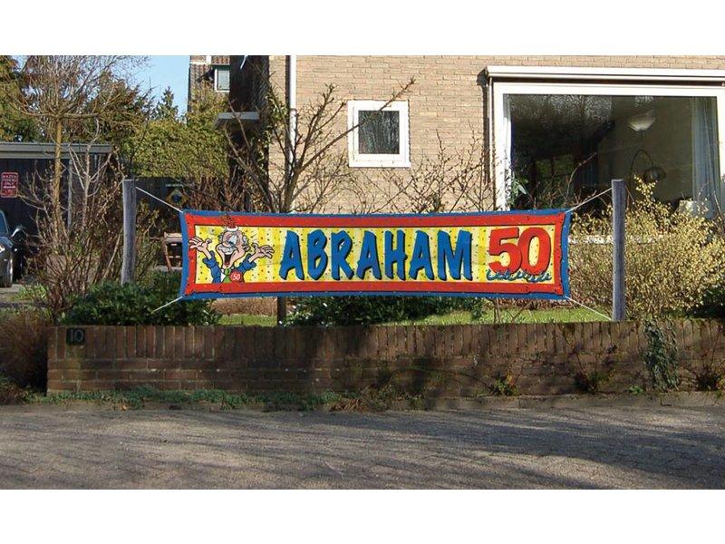 Straatbanier Abraham - 1 stuk