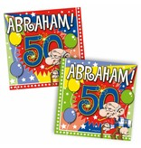 Servetten Abraham 25x25cm - 20 stuks