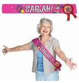 Sjerp Sarah roze - 1 stuk