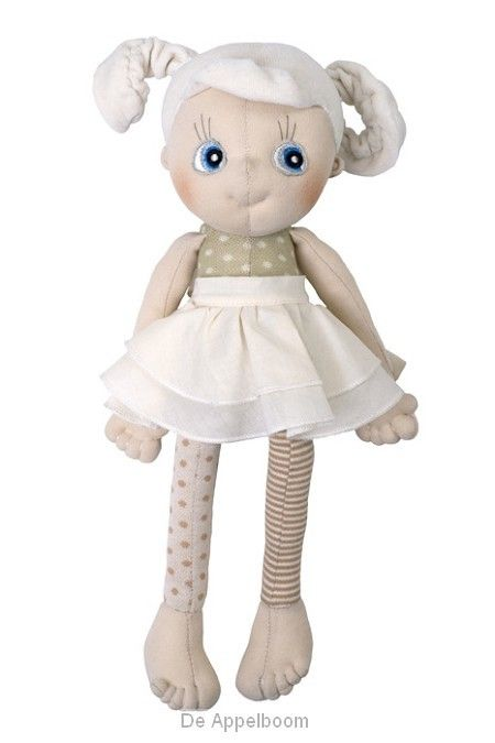 Handgemaakte zachte pop Daisy