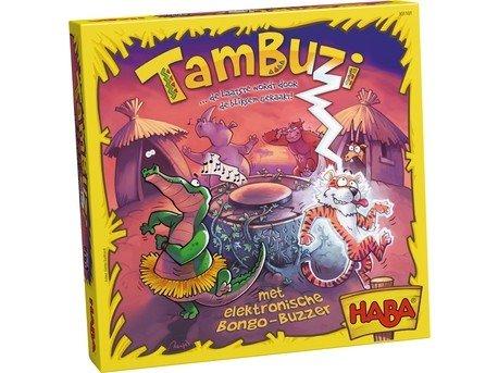 Haba Spel - Tambuzi... de laatste wordt door de bliksem geraakt!