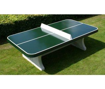 HeBlad Groene Tennistafel met afgeronde hoeken