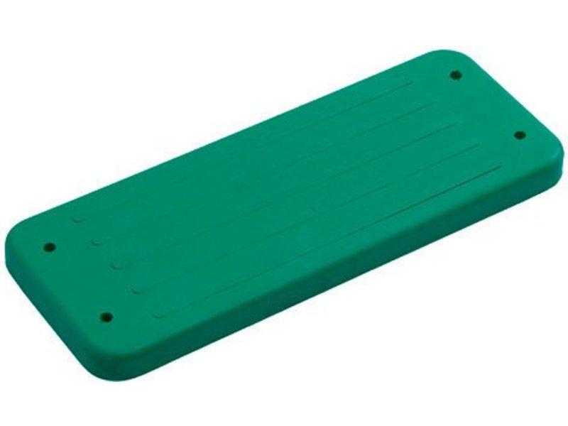 Rubberen schommelzitje - 'trad.' - galv. kettingset - 3.0 m (eff: 2.5 m) - groen